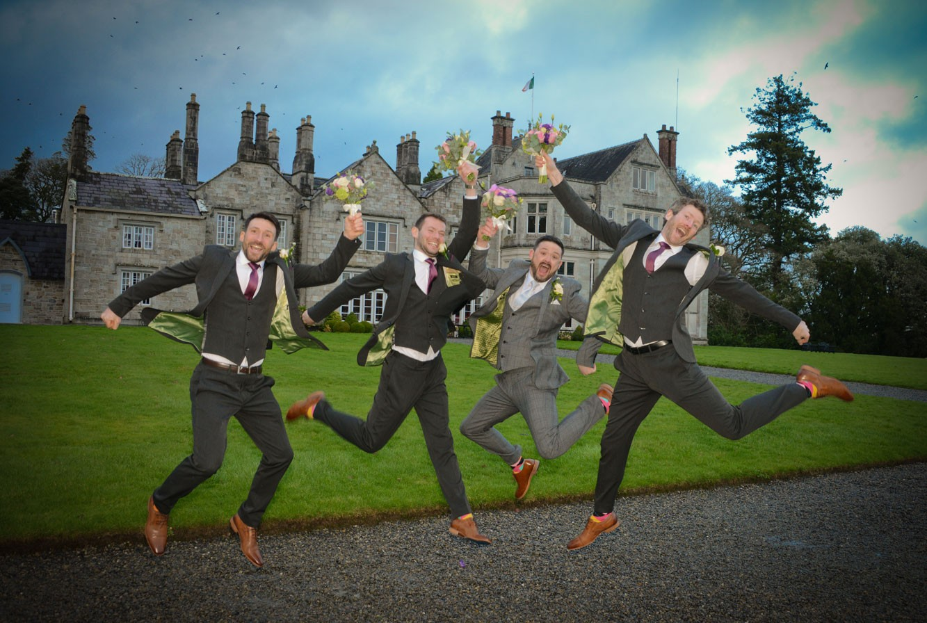 Leitrim castle wedding